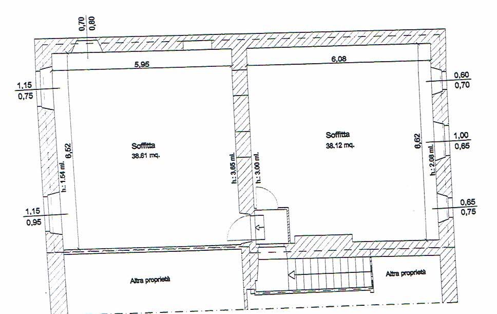 Planimetria 2/2 per rif. 2648