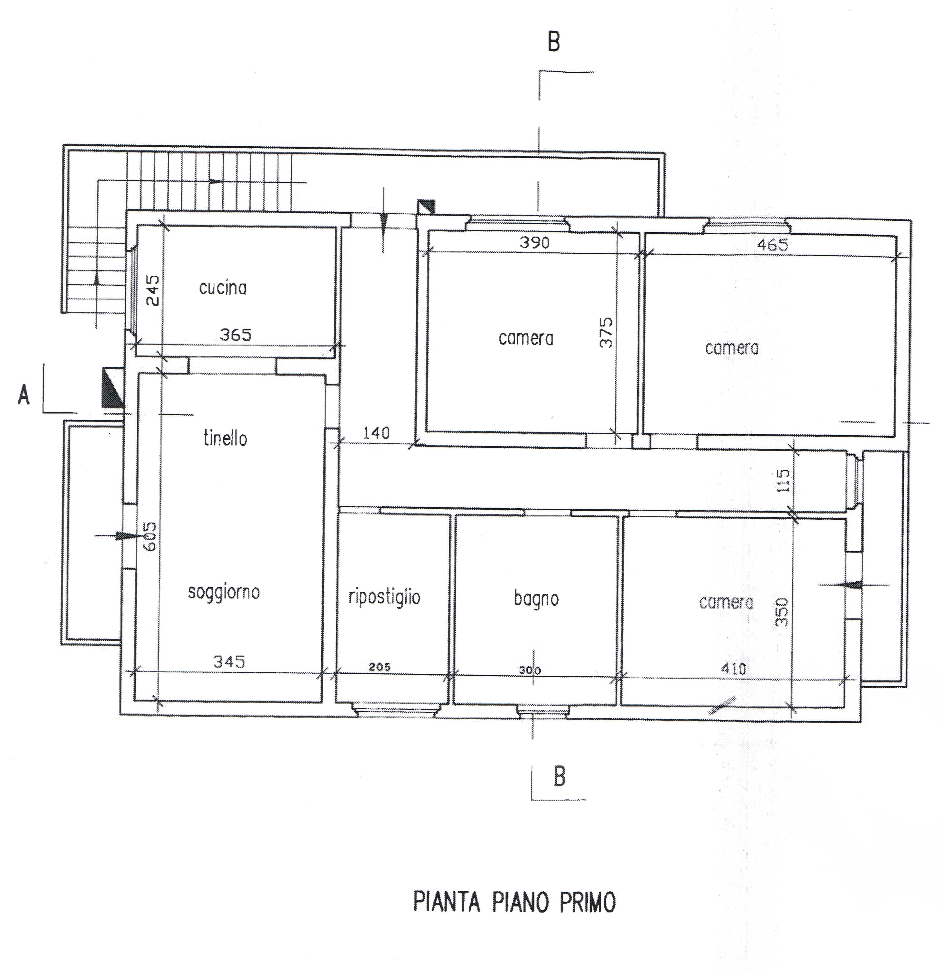 Planimetria 2/2 per rif. 2677