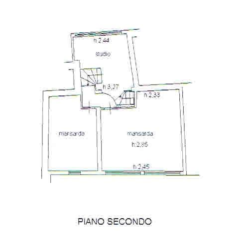 Planimetria 3/3 per rif. 2689