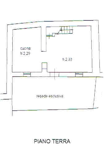 Planimetria 1/3 per rif. 2689