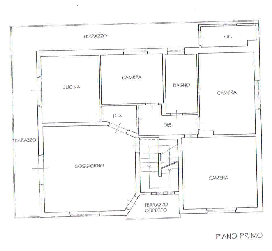 Planimetria 2/3 per rif. 2690