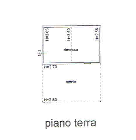 Planimetria 5/5 per rif. 2700