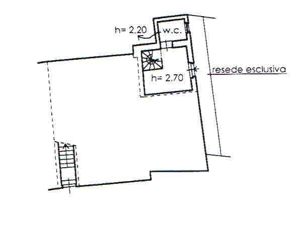 Planimetria 2/2 per rif. 2702