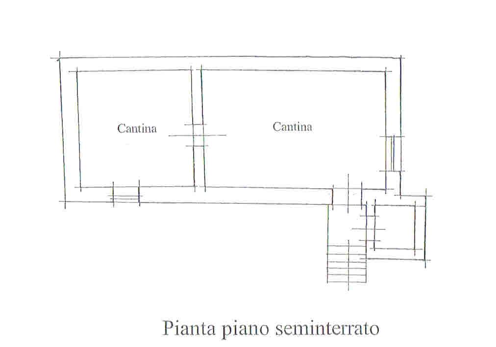 Planimetria 3/3 per rif. 2707