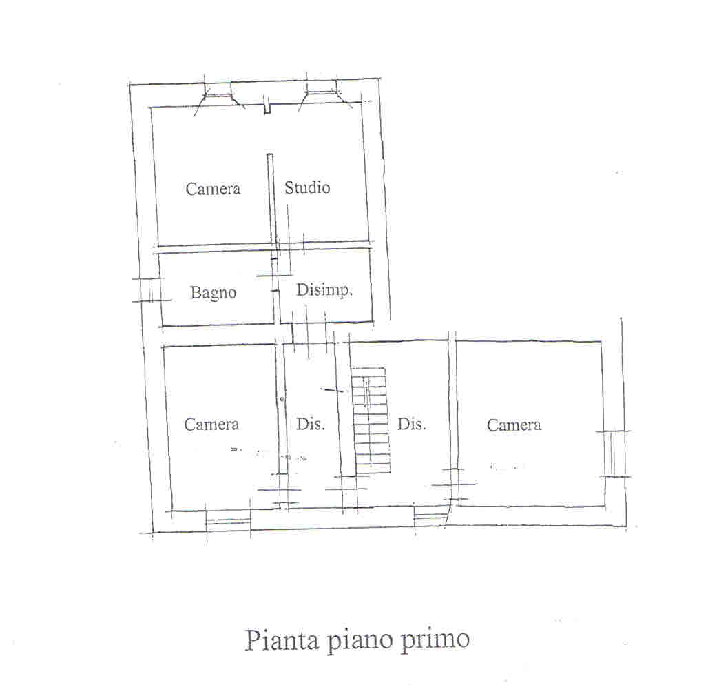 Planimetria 2/3 per rif. 2707