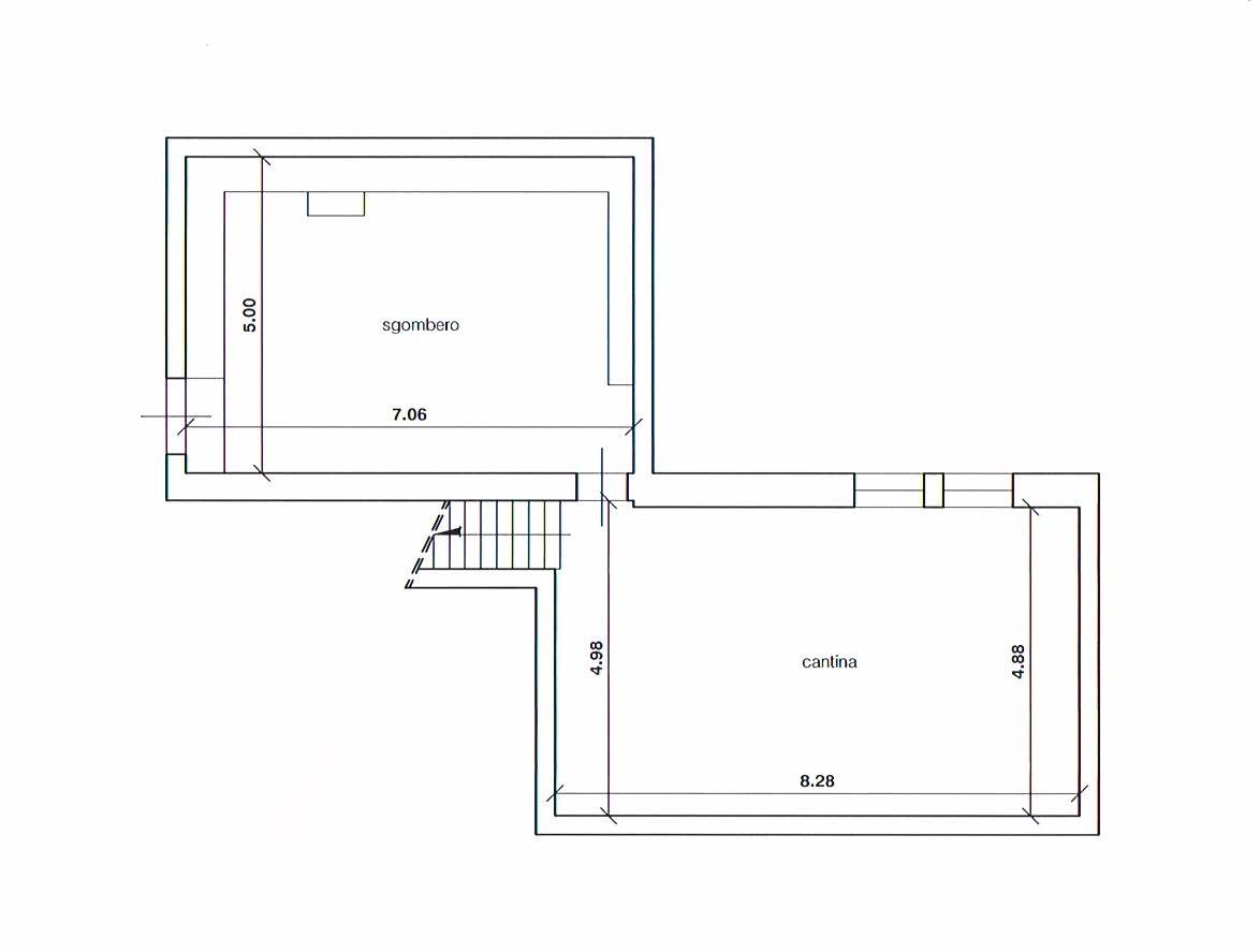 Planimetria 3/3 per rif. 2283