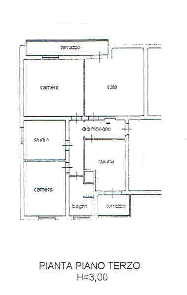 Planimetria 1/2 per rif. 2721