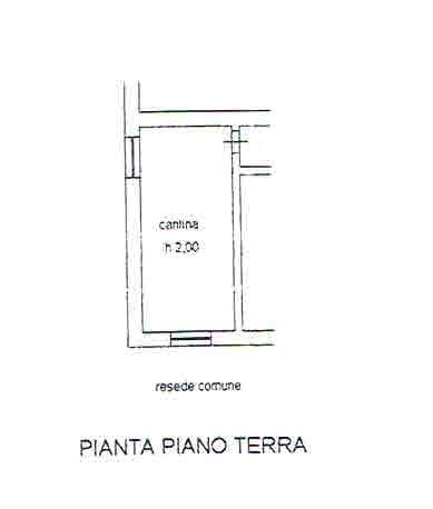 Planimetria 2/2 per rif. 2721