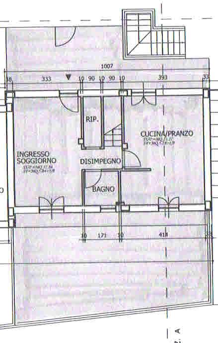 Planimetria 1/2 per rif. 2722