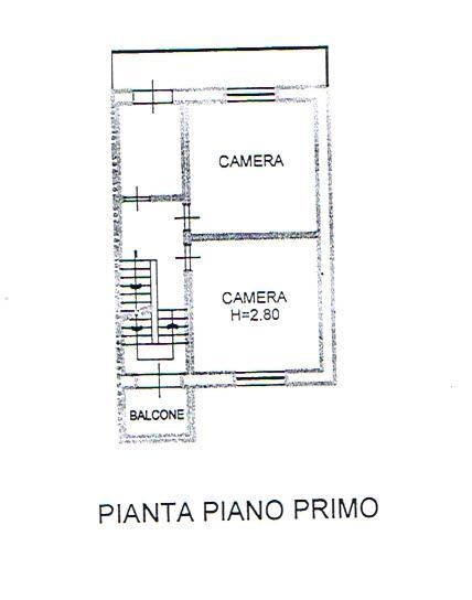Planimetria 2/3 per rif. 2730