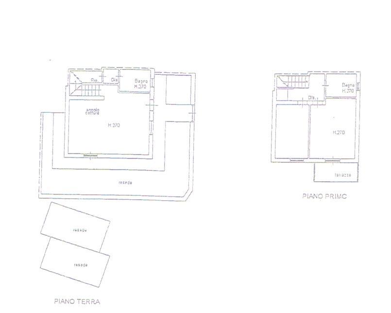 Planimetria 1/1 per rif. 2732