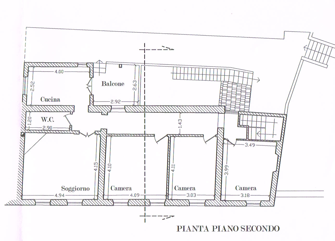Planimetria 1/1 per rif. 2733