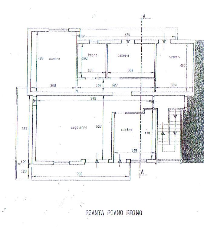 Planimetria 1/2 per rif. 2741