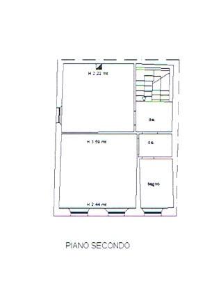 Planimetria 3/3 per rif. 2743