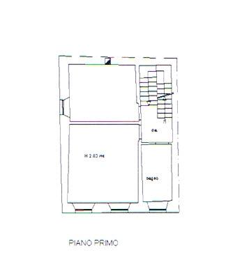 Planimetria 2/3 per rif. 2743