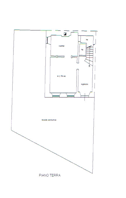 Planimetria 1/3 per rif. 2743