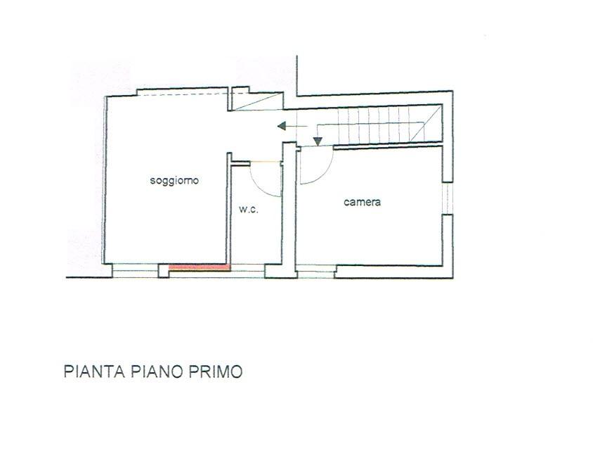 Planimetria 2/2 per rif. 2479