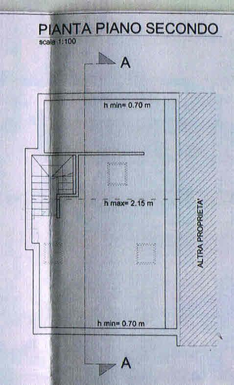 Planimetria 3/3 per rif. 2755