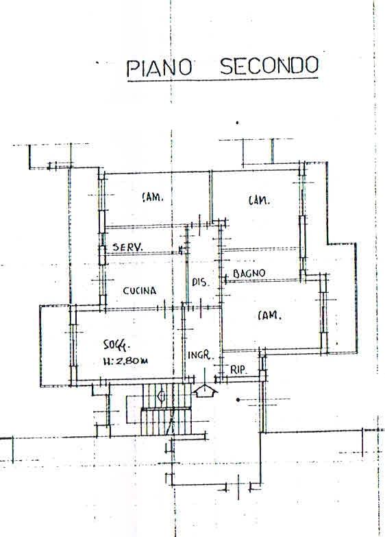 Planimetria 1/2 per rif. 2761