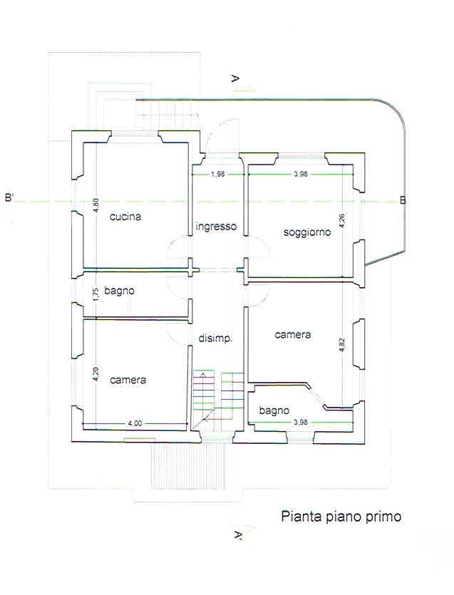 Planimetria 2/2 per rif. 2771