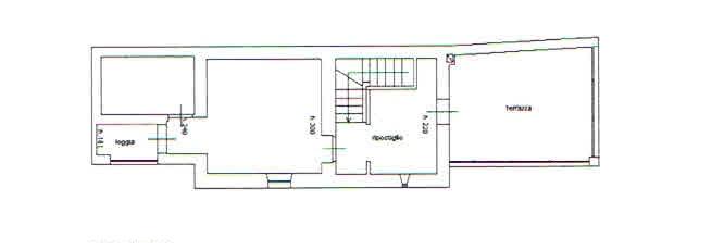 Planimetria 2/2 per rif. 2772