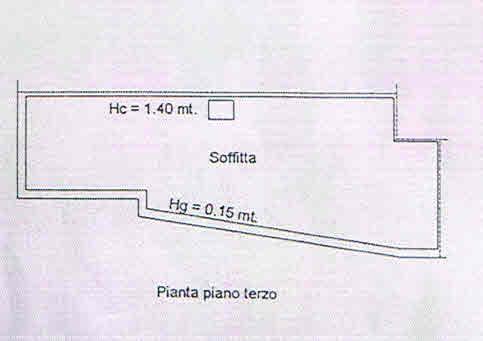 Planimetria 2/2 per rif. 2781