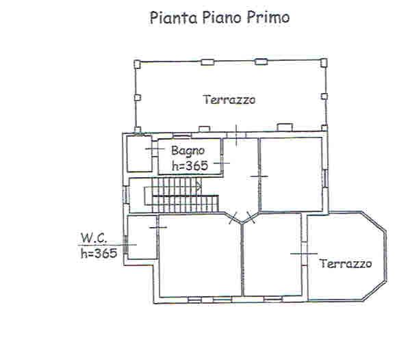Planimetria 2/2 per rif. 2782