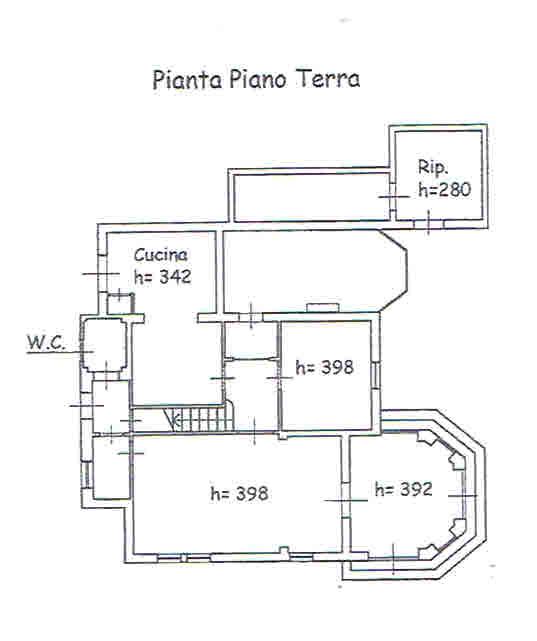 Planimetria 1/2 per rif. 2782
