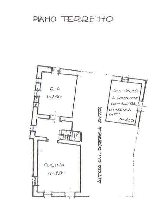 Planimetria 1/2 per rif. 2790