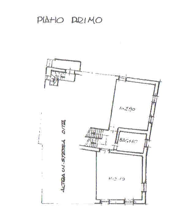Planimetria 2/2 per rif. 2790