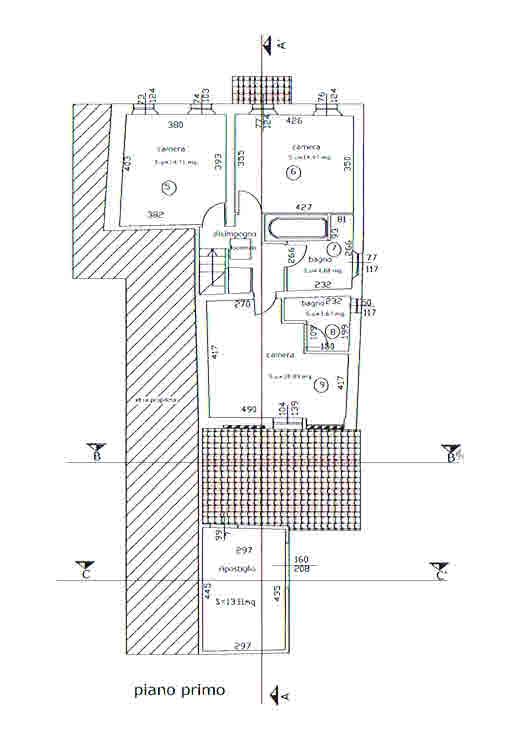 Planimetria 2/2 per rif. 2792