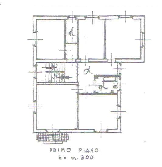 Planimetria 2/4 per rif. 2803