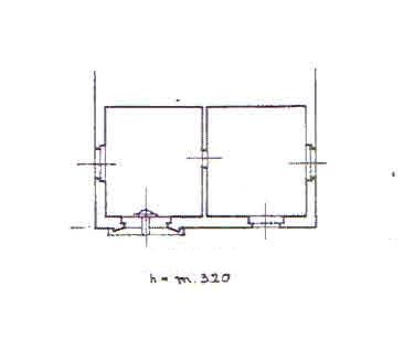 Planimetria 4/4 per rif. 2803