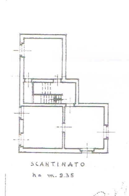 Planimetria 3/4 per rif. 2803