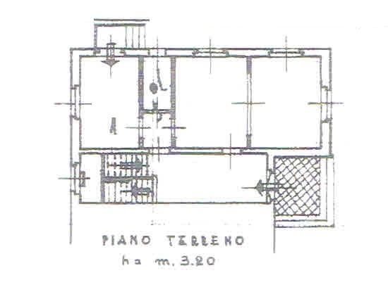 Planimetria 1/4 per rif. 2803