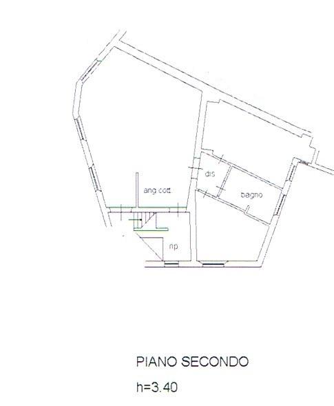 Planimetria 1/1 per rif. 2807
