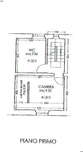 Planimetria 2/3 per rif. 2808