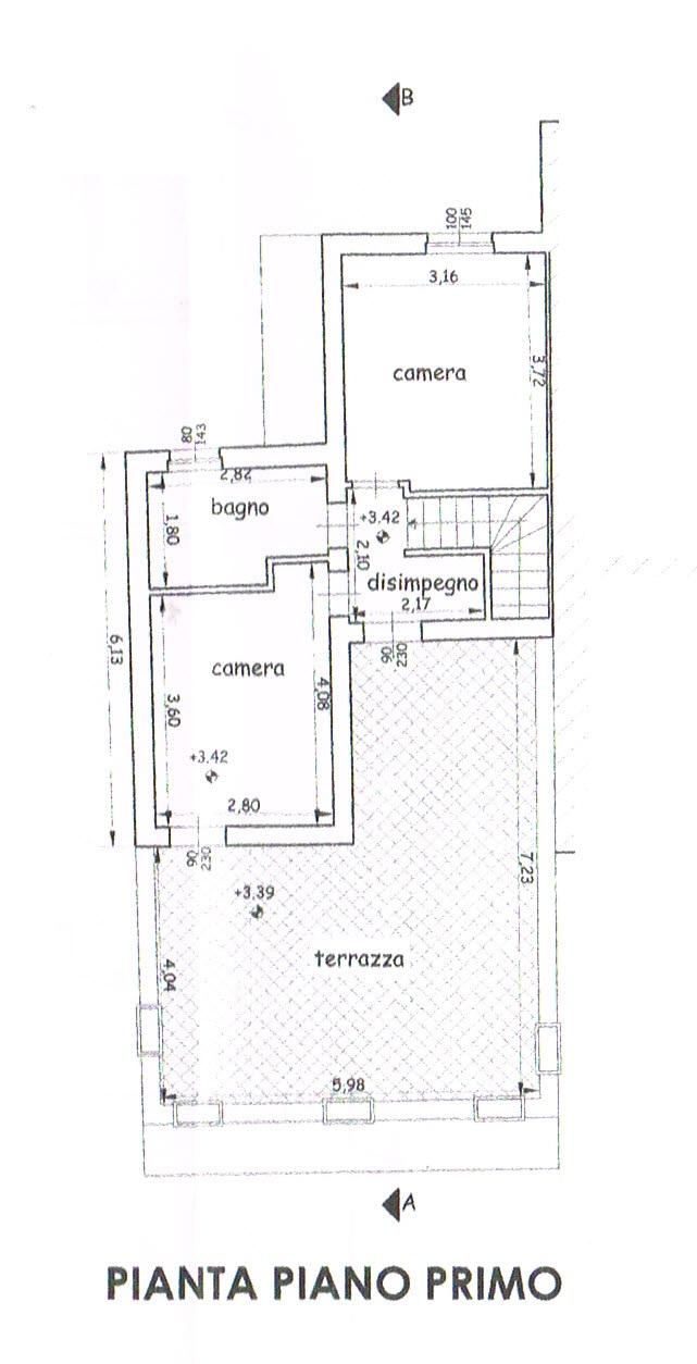 Planimetria 2/2 per rif. 2806