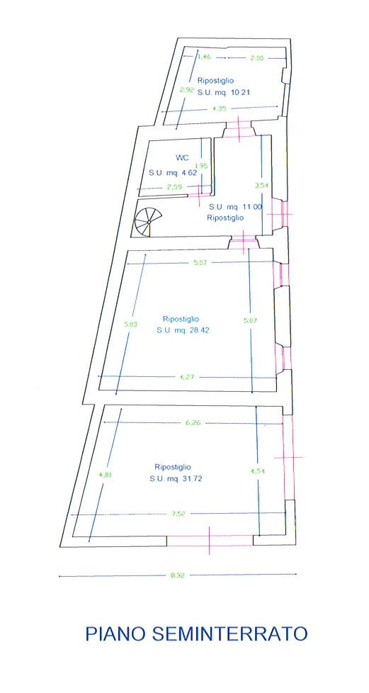 Planimetria 3/3 per rif. 2811