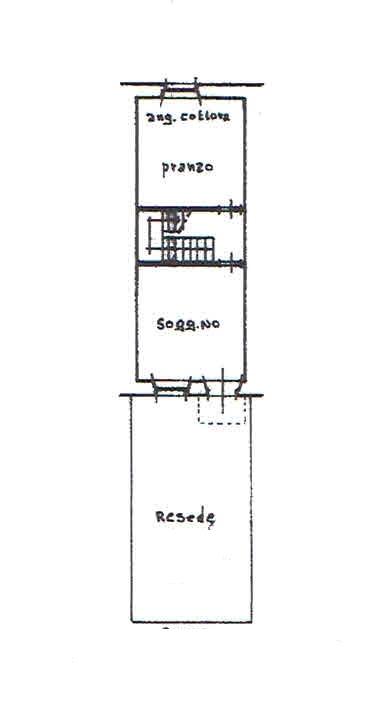 Planimetria 1/3 per rif. 2812