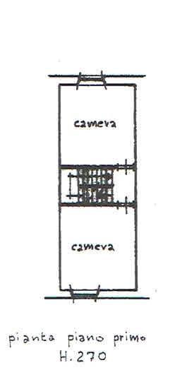 Planimetria 2/3 per rif. 2812