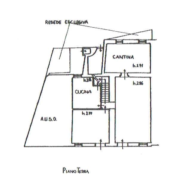 Planimetria 1/3 per rif. 2816
