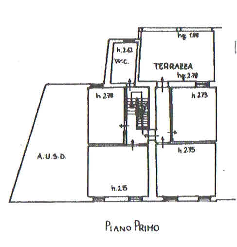 Planimetria 2/3 per rif. 2816