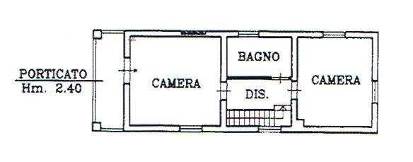 Planimetria 2/2 per rif. 2819