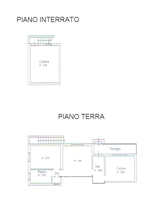 Planimetria 1/2 per rif. 2821