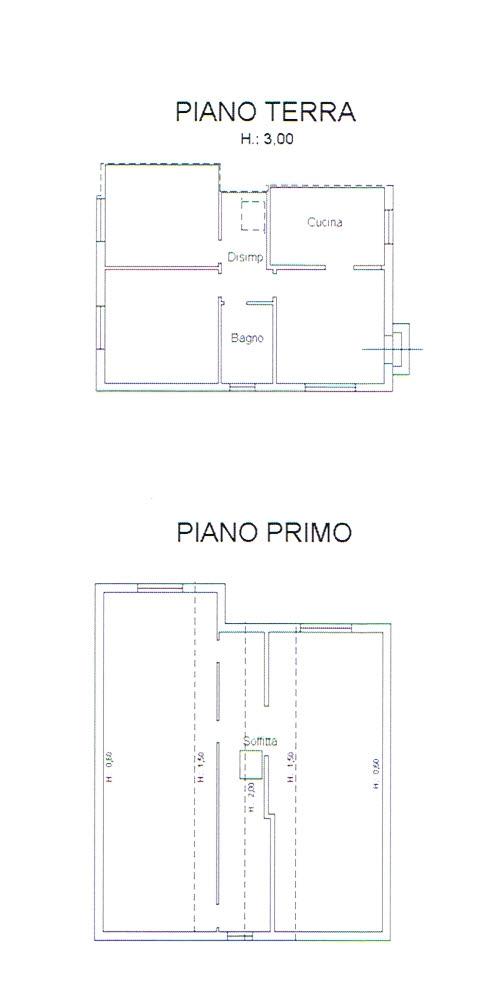 Planimetria 2/2 per rif. 2821