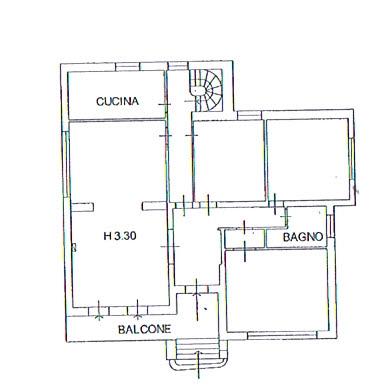 Planimetria 1/2 per rif. 2823