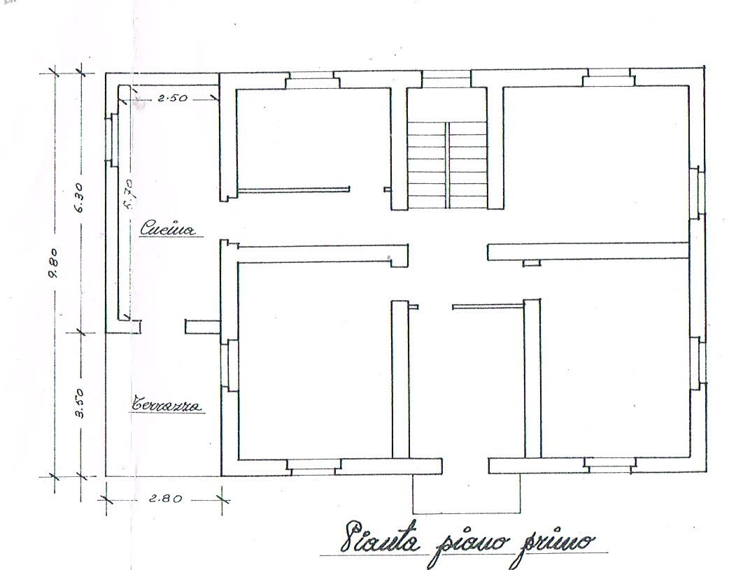 Planimetria 2/2 per rif. 2824