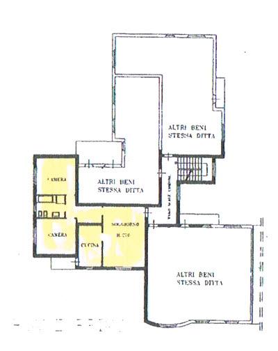 Planimetria 1/2 per rif. 2825