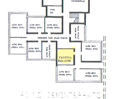 Planimetria 2/2 per rif. 2825